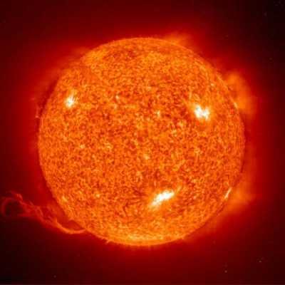 Солнце станет источником энергии лазера