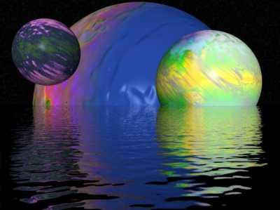В космосе рождается планетка, сходственная Миру