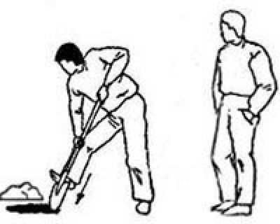 Как верно копать в огороде