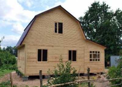 Дома построенные из бруса под ключ Пестово