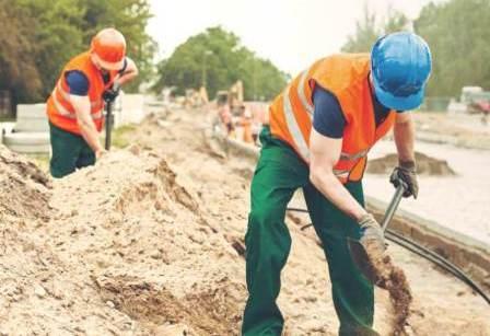 Применение песка в строительстве.