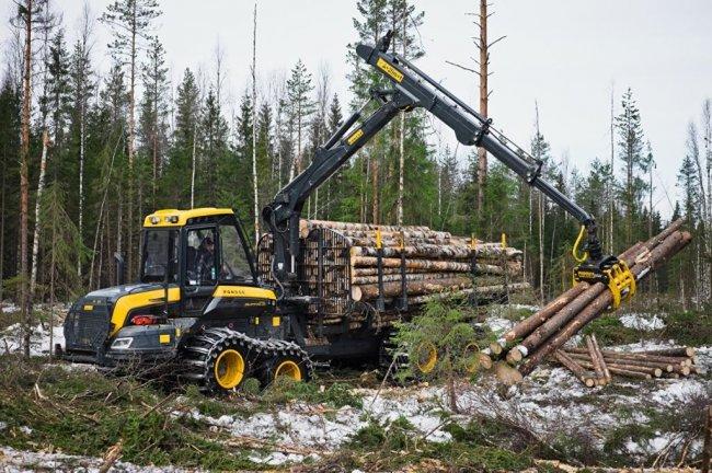 Для каких работ используется лесозаготовительная техника